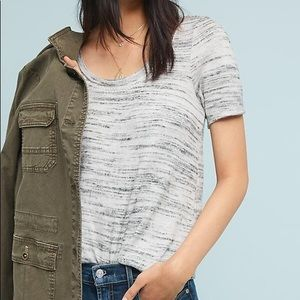 Pure + Good (Anthropologie) Elle Spaced-Dyed Tee